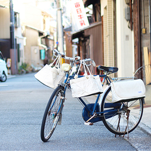 """#33 """"牛乳屋はん""""の配達袋"""