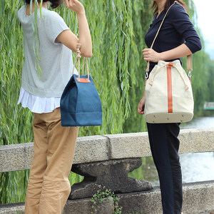 【新作】本麻帆布のショルダーバッグ