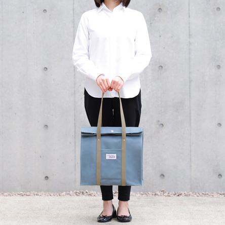 青ねず × オリーブ / モデル:160 cm