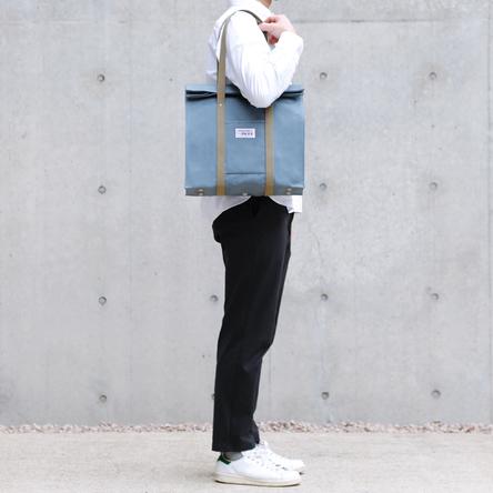 青ねず × オリーブ / モデル:180 cm