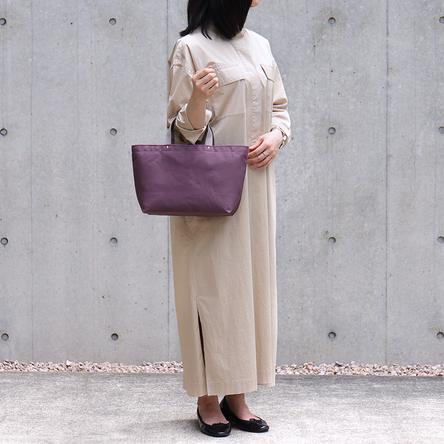 紫 × グレー / モデル: 160 cm