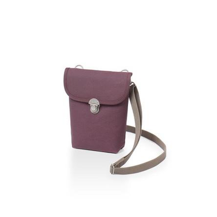紫 × グレー