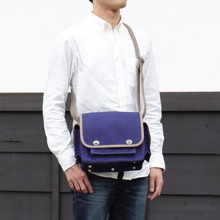 紺 × グレー / モデル: 170 cm