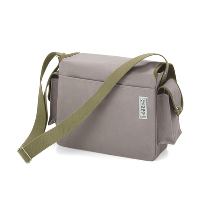 Gray × Olive green (back)