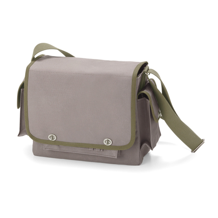 Gray × Olive green (front)