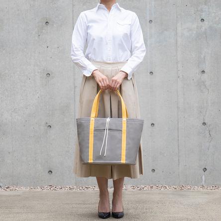 Gray × Yellow / model: 165 cm