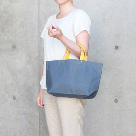 Blue-gray × Yellow/ model: 155 cm