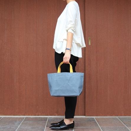 Blue-gray × Yellow / model: 165 cm