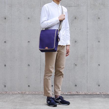 紺 × グレー/ モデル: 180 cm