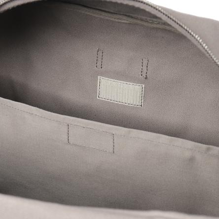 Inner pocket with hook and loop fastener